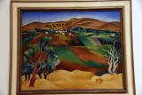 View from Tel Aviv to Ramat Gan Hills (1924) - Arieh Lupin - 2594