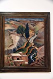 Lifta Landscape, Jerusalem (1927) - Sionah Tagger - 2599