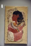 Egyptian tomb painting depicting the king's chief sculptor, Nebamun - 14th c. BCE - 4144