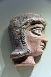 Profile of a Babylonian woman's head - 2nd millenium BCE - Babylonia, Central Mesopotamia - 4148