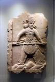 Relief of the Sassanian King Shapur I the Great -19th c. Qajar imitation of a 3rd-4th c. CE Sassanian depiction, Iran - 4152