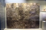 Wall relief depicting a stylized date palm with protective genies, 883-859 BCE - Calah (Nimrud), Assyria, Mesopotamia - 4158