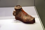 Vase in the shape of a sandaled woman's foot - 4th-3rd c. BCE - Probably Sicily, Hellenistic period - 4175