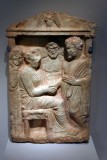 Funerary stele with a farewell scene - ca. 330 BCE - Athens, Greece, late Classical period - 4179