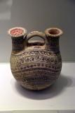 Double-spouted askos (perfume dispenser) - 3rd c. BCE - Italy, Daunian - 4189