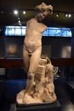 Sculpture of a satyr - 2nd c. CE - Caesarea - 4230