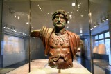Statue of the Emperor Hadrian - 117-138 CE - Camp of the 6th Roman Legion Ferrata, Tel Shalem, Beth Shean Valley - 4240