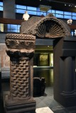 Torah shrine column, Chorazin synagogue, 4-6th c. CE - 4261