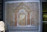 Synagogue mosaic floor, 4th c. CE - Khirbet es-Samarah - 4263