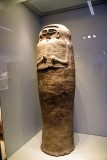 Anthropoid coffin - Late Bronze Age, 1300-1200 BCE - Deir el-Balah - 4294