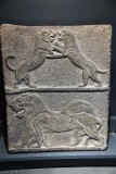 Lion and lioness at play, 14th c. BCE - Beth Shean - 4298