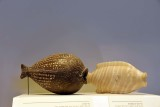 Fish-shaped vessels: 19th-18th c. BCE, Tel Poleg; 15th c., Egypt - 4302