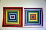 Double Scramble: Ascending Spectrum Descending Green Values/Ascending Green Values Descending Spectrum, 1978-Frank Stella - 4591