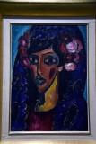 The Blue Mantilla (1913) - Alexej von Jawlensky - 4635