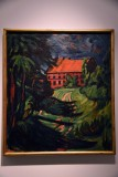 The Red House (1911) - Max Pechstein - 4644