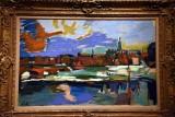 The Elbe at Dresden (1918-22) - Oscar Kokoschka - 4648