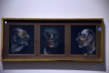 Three Studies for a Portrait (1973) - Francis Bacon - 4751
