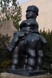 Man on a Horse (1992) - Fernando Botero - 4906