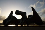 Three-piece Sculpture: Vertebrae (1968-69) - Henry Moore - 5001