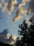 Wolken - Mond - usw.