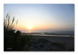 sunset in De Panne