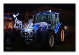 Tractor Kerst Licht Parade Werchter
