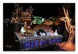 Tractor Kerst Licht Parade Werchter 2019