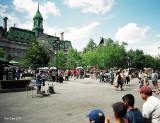 Spectacle à la Place Jacque-Cartier