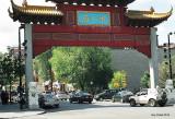 L'entrée du Quartier chinois