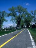 La piste cyclable à Varennes