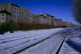 La voie ferrée du Vieux-Port