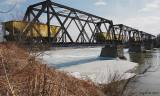 Le pont ferroviaire à Vallée-Jonction