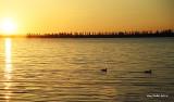 Coucher de soleil à Laprairie