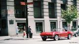 Corvette rouge
