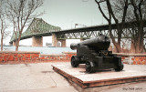 Canon vers le pont