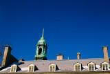 Le clocher et leslucarnes
