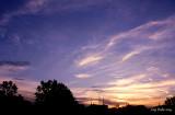 Coucher de soleil à Ville d'Anjou