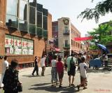 Foule dans le Quartier chinois