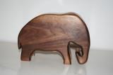 Elephant bandsaw box