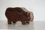 Rhino bandsaw box