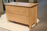 oak bedside drawers
