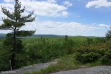 View from the top of Blueberry Mountain
