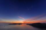 Santorini Sunset Wide