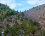 Winter hike at Onoko Falls, Jim Thorpe PA