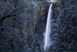 Bridalveil Falls Snow