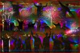 Pixel Adventurers Fireworks
