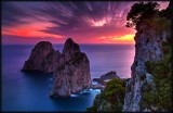 Punta Tragara Sunset Capri