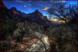 Zion Virgin River Watchman Peak