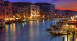 Venice Grand Canal Twilight