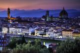Florence Italy Twilight